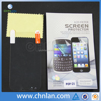 For alcatel one touch pop c5 5036d screen protective film for mobile phone ultra thin clear