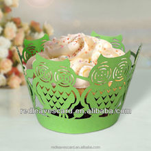 2016 decorative paper Christmas table/party cupcake wrapper