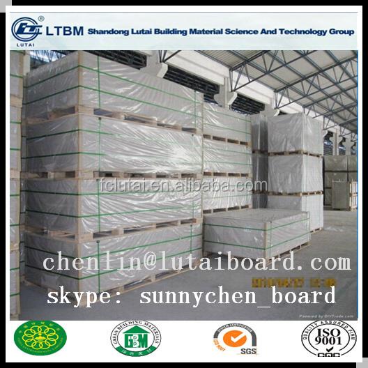 Colored non asbestos drywall cladding fiber cement board for Does gypsum board contain asbestos