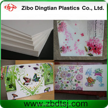 China factory hot sell in USA pvc foam board for furniture making, advertising materials
