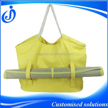Wholesale Canvas Blank Tote Bags For Carrying Beach Mat