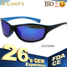 China New design Plastic sunglasses suncristal branded 52ST10006 model number