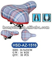 Imitation Leather Cover Cycle Seat for Folding Bike