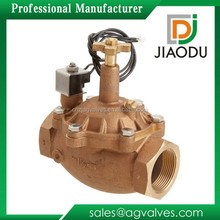 1-1/2-Inch Brass Coil Solenoid Valve with Flow Control Replacement for Zodiac Levolor Water Leveling System