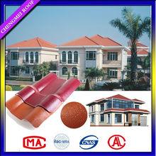 Heat preservation decorative ASA PVC roof sheet