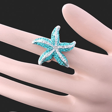 2015 new product influx female star alloy diamond chunky rings