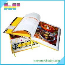 Professional Book Publishing for Coloring Cook Books, Low Cost Wholesale Hardcover My Hot Book