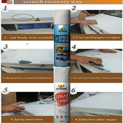 Autokem epoxy enamel spray paint, bright spray paint, shiny mirror effect spray paint