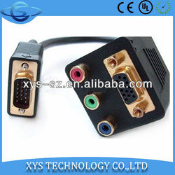Factory Supplier High Quality vga to rca splitter