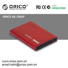 X-Gear Floppy Drive Bay 2.5inch SATA aluminum hdd hard drive protection case