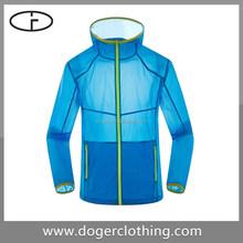 China manufacturer color long sleeve hooded men jacket coat