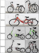 Assistance Folding lithium electric bike