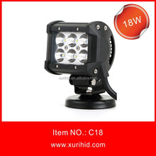 Hot sale water proof 18w light bar for cars