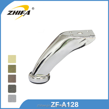 ZF-A128 aluminum bathroom accessories curved table legs