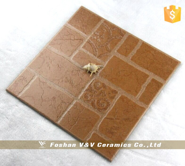 Cheap price 333x333mm bathroom ceramic floor tile non slip for Porcelain tile bathroom floor slippery