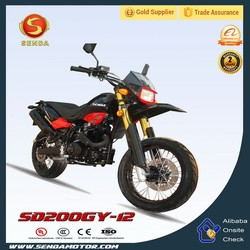 Gas Power 200CC New Designed New Pit Bike Dirt Motorcycle SD200GY-12