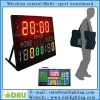 Factory directly wireless led digital tableau de board scoreboard scorer