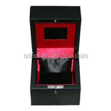 top grade black wooden video jewelry box