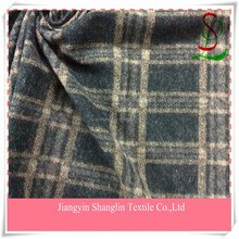 Knitted Jacquard wool fabric for men