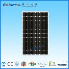 Best quality price per watt monocrystalline cheap pv solar panel price 250w with TUV UL for sale