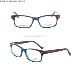 2015 fashion design china acetate optical frame