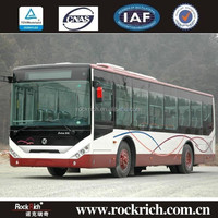Famous City Bus Design China Manfacture Diesel Engine Euro 4 10.5m 22-40 Capacity City Bus For Sale in Foreign Coutries