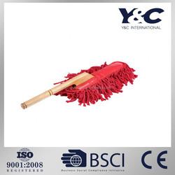 Wood handle car duster