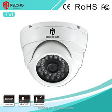 1.0 Megapixel 720P IR With Metal Shell Reach 400 Meters Day&Night Surveillance TVI Dome Analog CCTV Camera