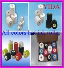 Hot ink roller colors 36mm*16mm Printing Temperature 90-130 pre-heated about 20-30 minutes