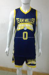 100% polyester 150gsm A001 fabric camo basketball uniform design for men