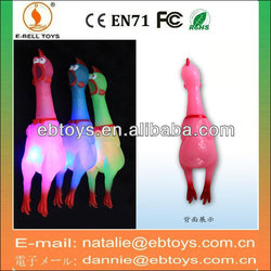 Double flash light shrilling chicken vent toys