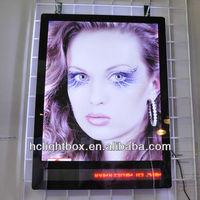 acrylic led digital advertising light box letter sign