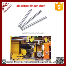 High performance 3mm carbon steel linear shaft for 3D printer