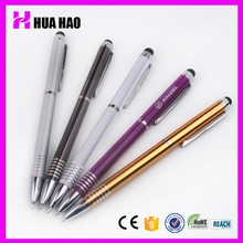 Promotional Custom Logo Multicolor Cheap Anodizing Aluminium Pens Imported From China