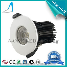 10W COB LED fire rated Downlight round shape10w nature white fire rated led down light with ce rohs saa 5 years warranty