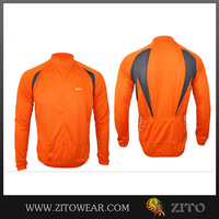 Pro team sublimated cycling jacket/cycling windproof jackets/bike riders jackets