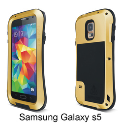 Free Shipping s5 V i9600 Creative metal universal cell phone cases to protect smartphone