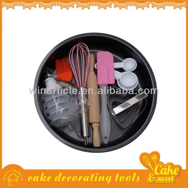 pişirme araçları kek kalıbına yumurta çırpma çerez kesici spatula