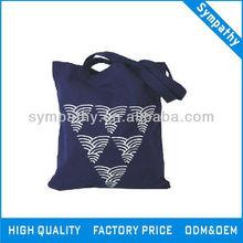 nepal cavans shoulder shopping bag with printing wholesale