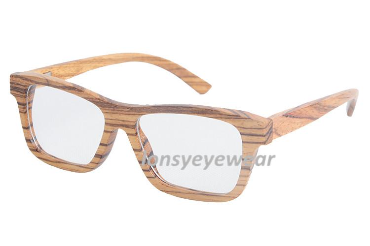 Change Your Glasses Frame : New Arrival Eyewear Ebony Wooden Full Frame Eyeglasses ...