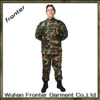 Wholesale OEM woodland china military uniform