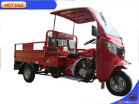 150cc/200cc China cargo tricycle with cabin