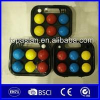 Wholesale cheap PE plastic lawn bowl/bocce /boules/petanque
