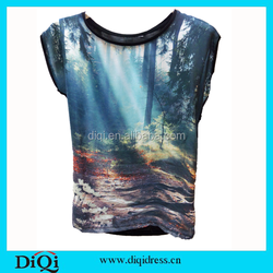 Wholesale OEM fashion designs women and men custom sublimation t shirt custom t shirt printing