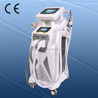 2014 CE approval hot sale salon use ipl rf nd yag laser hair removal machine