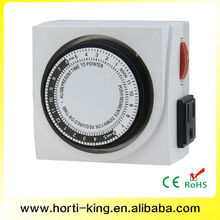 24 hour dual outlet mechanical timer mechanical oven timer