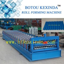Russia market wall and roof panel roll forming machine