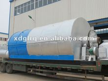 Waste Tyre Pyrolysis Plant Used for Recycling Tire Plastic to Crude Oil
