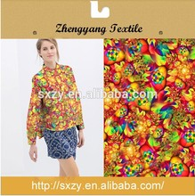 Great material cheap printed polyester blending custom viscose