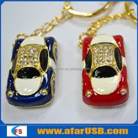 Jewelry mini car usb flash 16gb, car shape pen drive, car usb stick